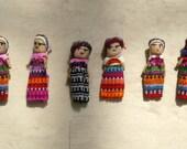 Guatemalan dolls 2 inch