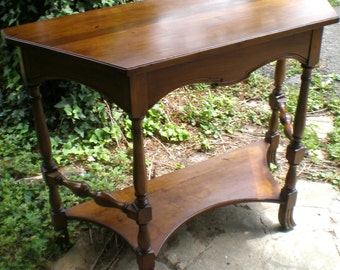 Vintage English Country Tall Table
