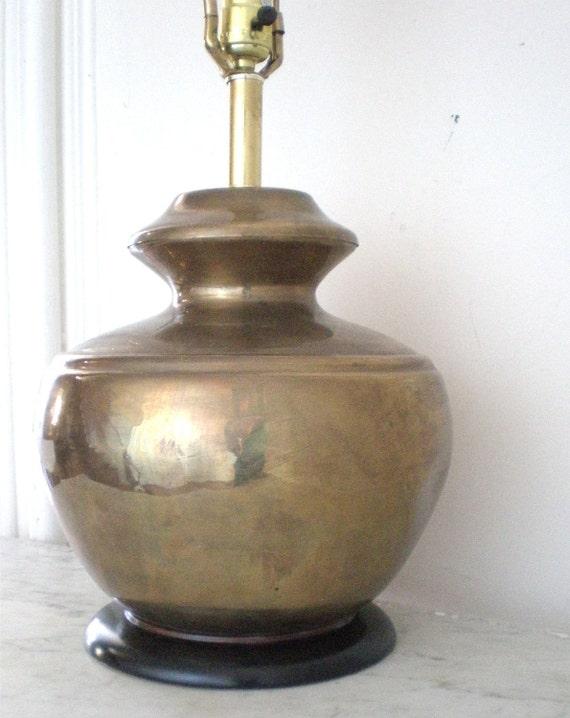 Vintage Brass Lamp