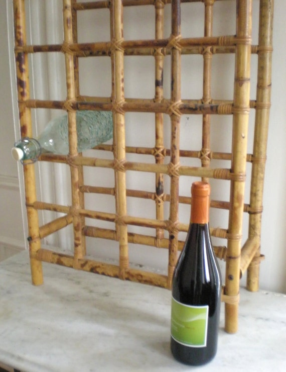 Bamboo Wine Rack 24 bottles