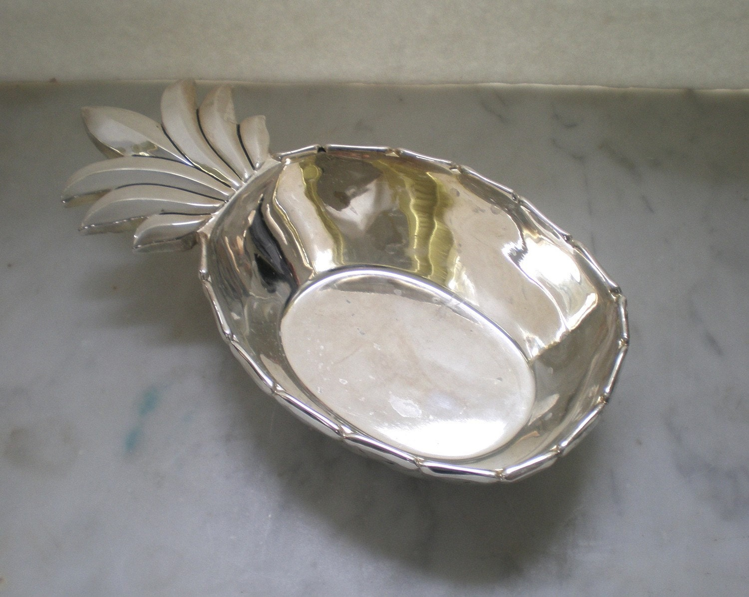 Silver Plate Pineapple Dish By Godinger Silver Art Co