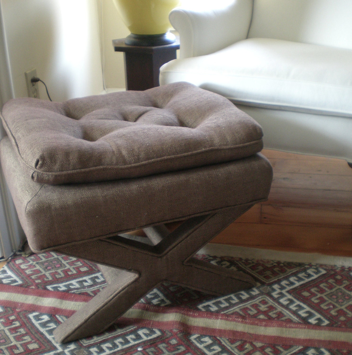 Newly Upholstered 60 39 S X Bench