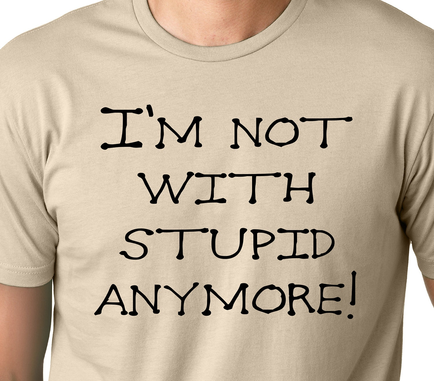 Divoces Quote Photo: I'm Not With Stupid Anymore Funny Divorce T-shirt