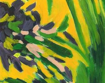 The  Power Of Spring Original Acrylic Painting
