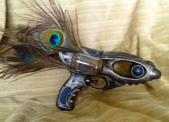 Peacock's Pride, steampunk ray gun