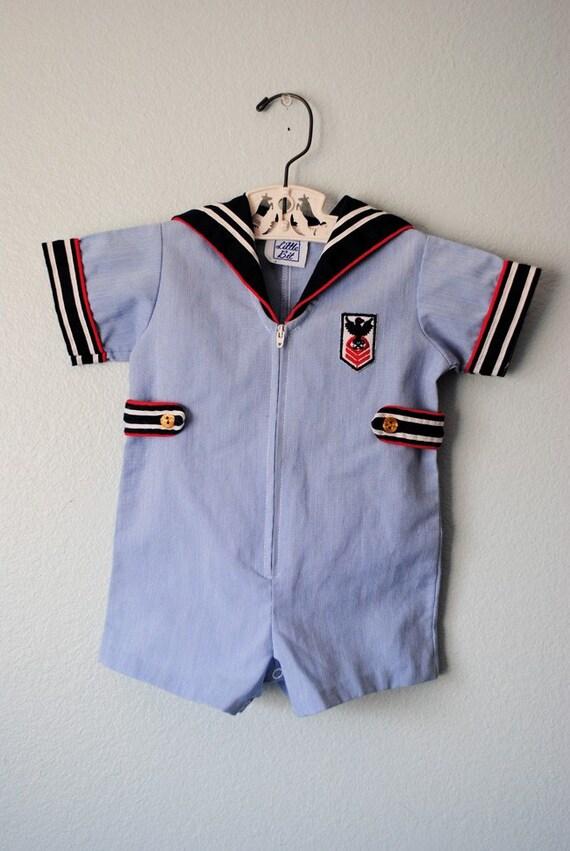 Vintage Sailor Outfit 23