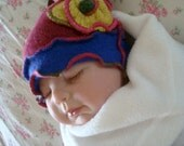 Cute Newborn Baby Pixie Hat