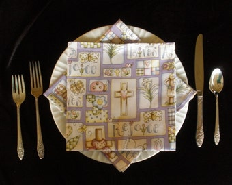 Easter Cloth Napkins (Set of 4)