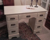 Shabby  cottage desk - for pick-up only, NO delivery