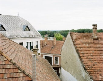 Roof Tops- Fine Art Photography- Hungary