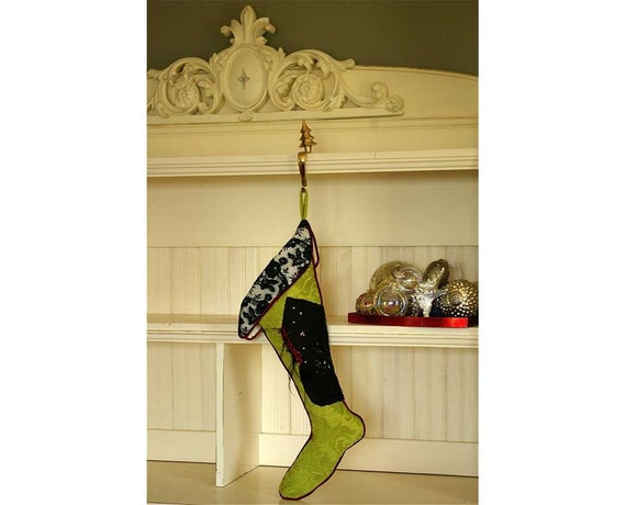 Items Similar To Elegant Christmas Stockings Great