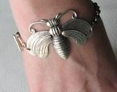 victorian bee bracelet