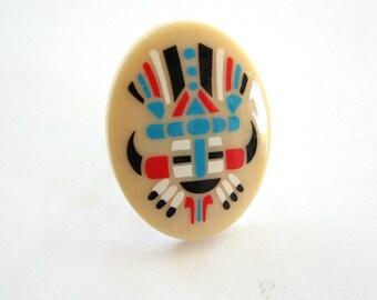 large tribal ring