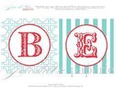 "Valentines ""be mine""- printable decorative banner"