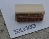 XOXO - rubber stamp
