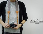 Leathinity - Leather Neck Camera Strap (Adjustable Length)