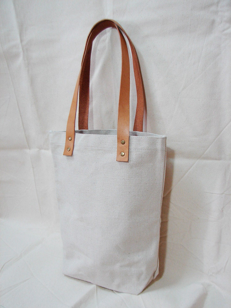 Tote bag with leather handles – Trend models of bags photo blog