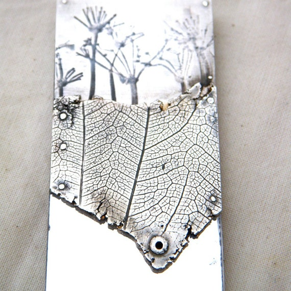 Silver 'Wilderness'  Wuthering Heights brooch by Cari-Jane Hakes, hybrid handmade