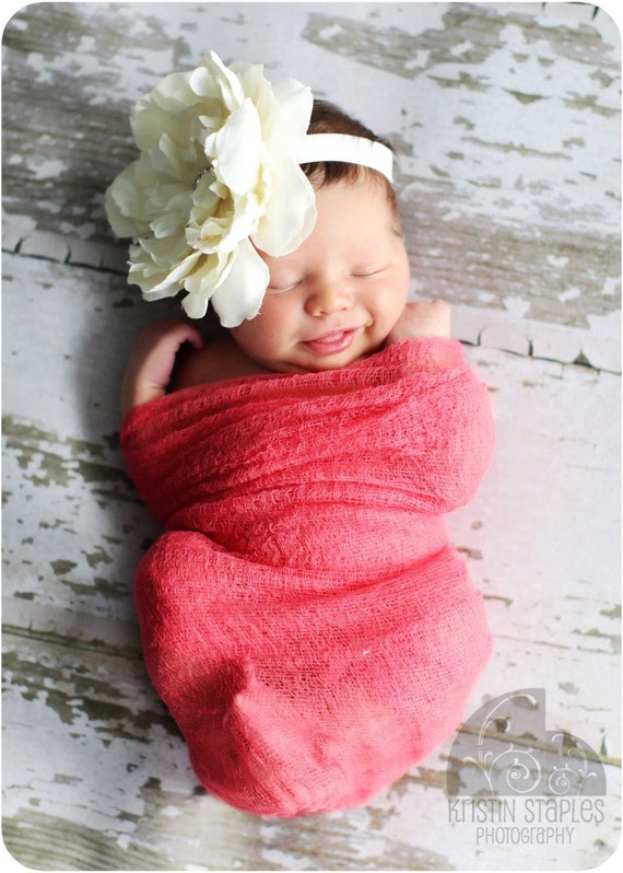 Beautiful Hand Dyed Cheese Cloth Wrap for Baby, Choose Any Color