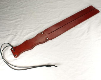 Brick Red Scottish Style Tawse