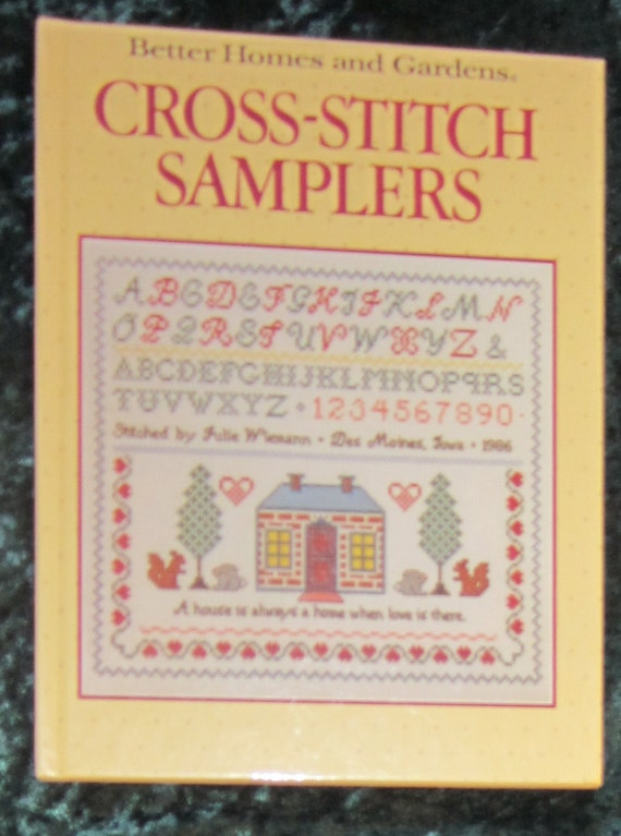 Better Homes and Gardens  Cross Stitch Samplers