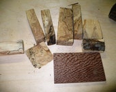 Upcycled Exotic Hardwood Pieces