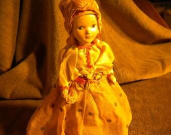 x Antique 8 inch Doll (FF267)