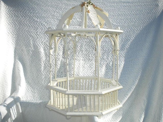 Wedding Card Box - Gazebo shabby chic  ON SALE