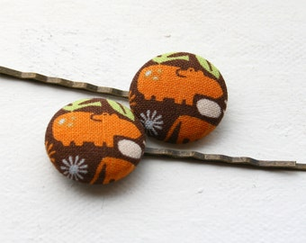 Hippo Hair Pins