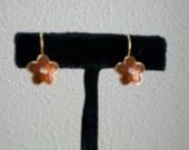 Enamel and Crystal Earrings