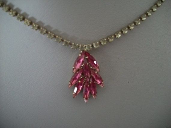 SALE Vanna White Crystal Necklace
