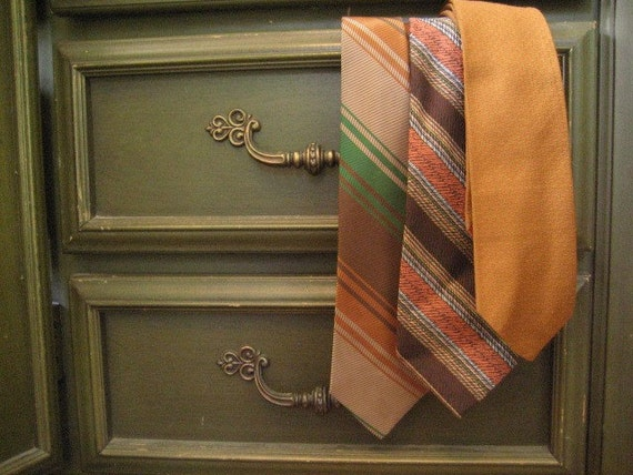 Vintage Mens Ties Lot of 3