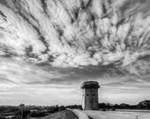 Baltimore Art, Baltimore Moorish Tower,  Black and White Fine Art Photography, Baltimore Skyline