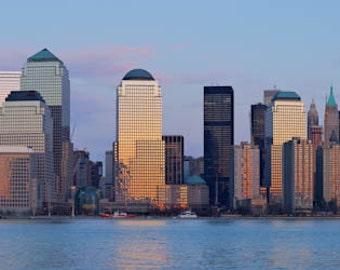Lower Manhattan,  NYC Skyline Art, New York Skyline Art, Panoramic Photo, Panoramic Art, Panoramic Photography, Panoramic Print