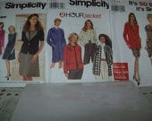 3 Simplicity PATTERNS - 9705, 9824, and 7117