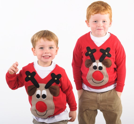 Childrens christmas sweaters