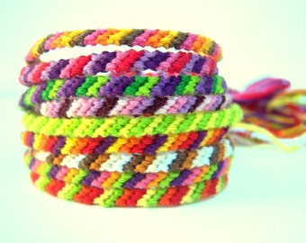 L.A. Raised-4 stringed friendship Bracelets-this is for 2 bracelets