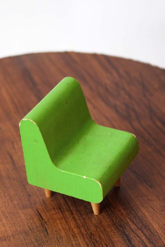 Made In Finland Mid Century Modern Eames Chair Miniature Chair