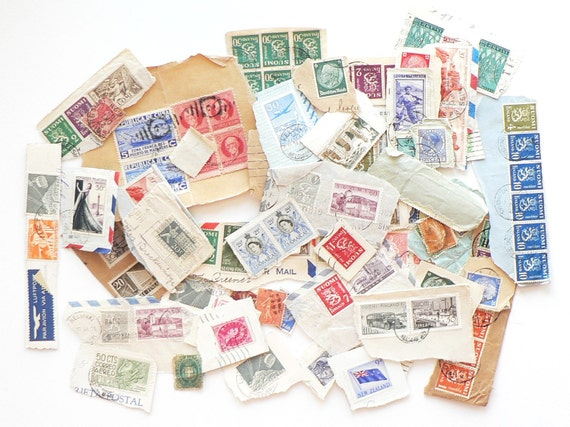 Cancelled Postage Instant Collection of 100 International Postage Stamps