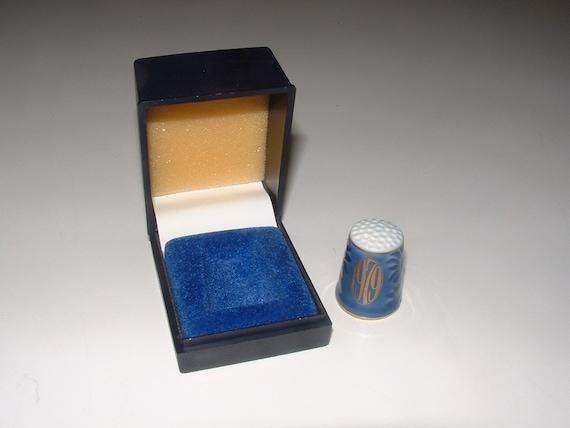 Bing  Grondahl Thimble - 1979 - 161