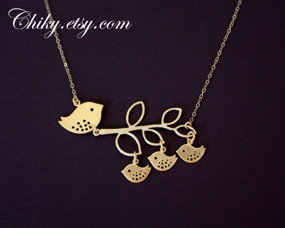 Items similar to Mother's Day Gold Jewelry