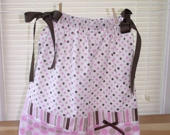 Pink Pillowcase Dress 4T