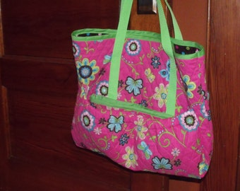 AG Sized Doll Clothes Quilted Doll Tote Custom Made