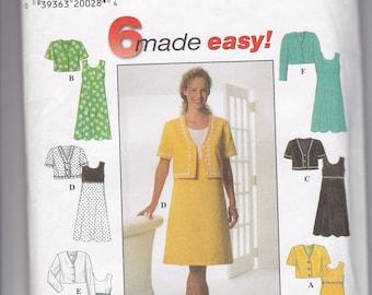 Simplicity 7511 Womens Dress Size 18-22