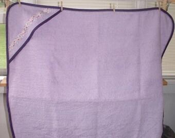 Hooded Terry Cloth Baby Bath Towel