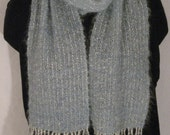 Handwoven Hand Dyed Kid Mohair Scarf