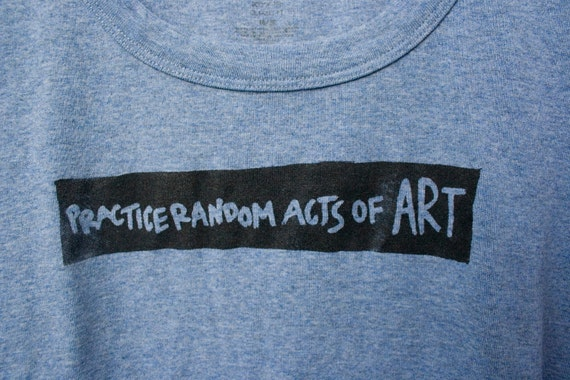 Practice Random Acts of Art - The Lisa - XL in Light Blue