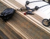 AVIS Bird and Tulip Necklace