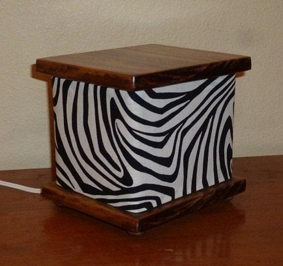 Zebra Stripe Lamp Lantern Night Light Nightlight