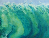 Wave Painting, Surfer's Dream